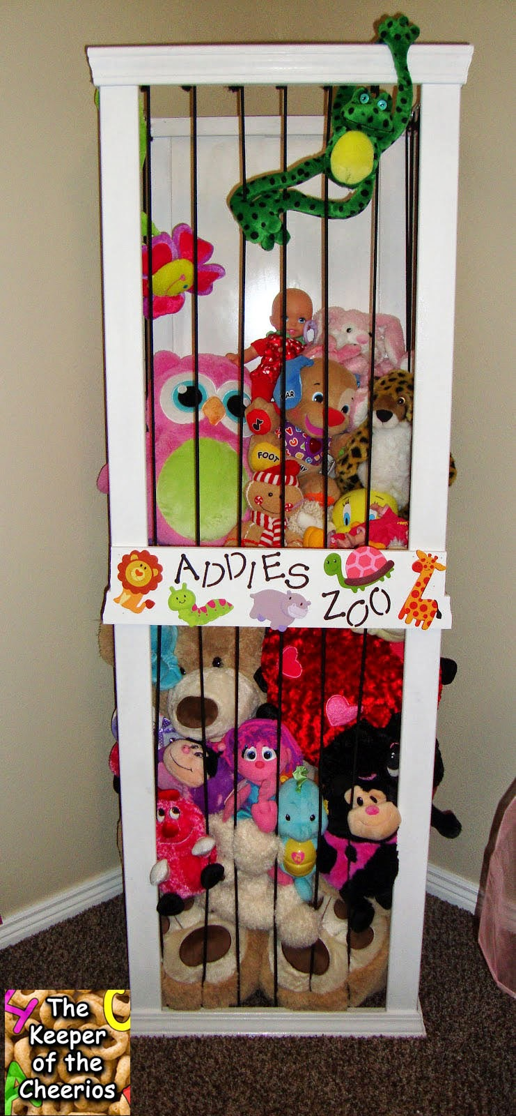 Addies Zoo The Keeper Of Cheerios On Go Pink Cheerio Basic Building Instructions For Main Support My Husband Used 4 1x2 Boards Appx 6 High We Found It Was Surprisingly Cheaper To Buy Ones That