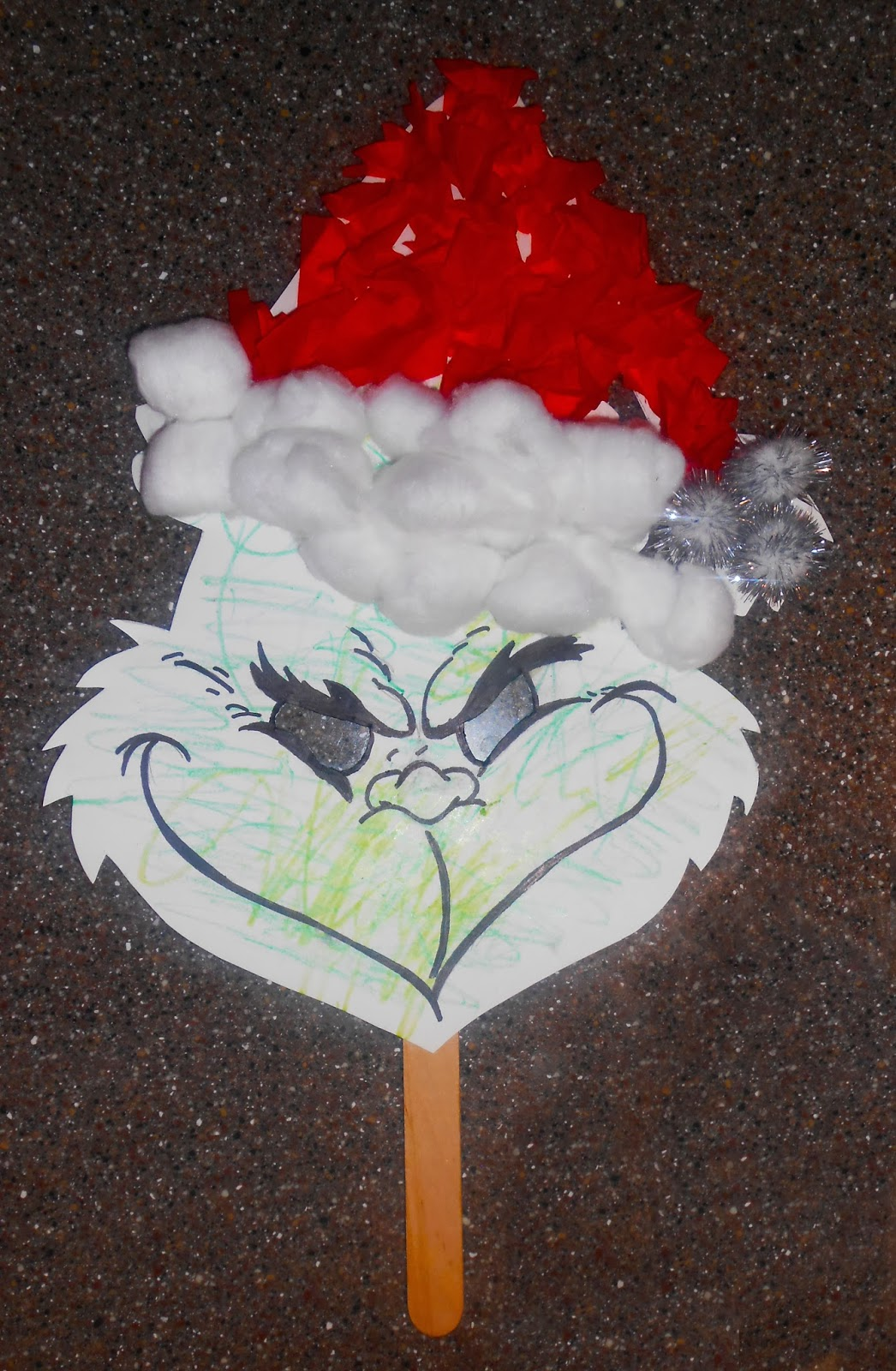 DIY Kids Grinch Mask The Keeper
