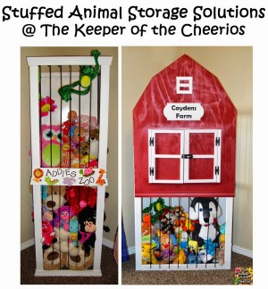 Stuffed Animal Storage Solutions The Keeper Of The Cheerios
