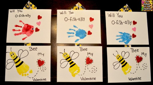 FISH BEE VALENTINE