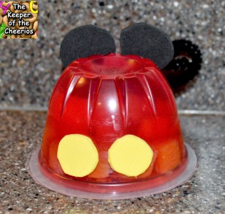 Mickey Jello Cup
