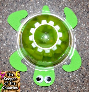 Turtle Jello Cup