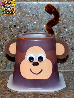 monkey pudding cup1