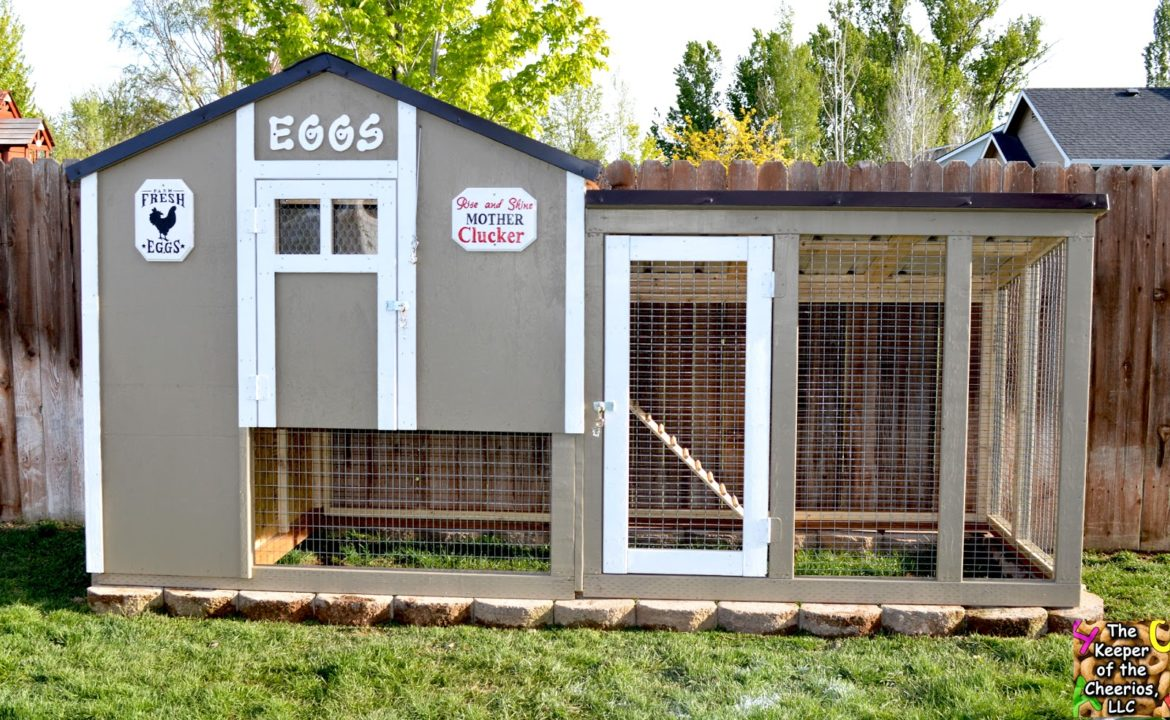Our Chicken Coop The Keeper Of The Cheerios