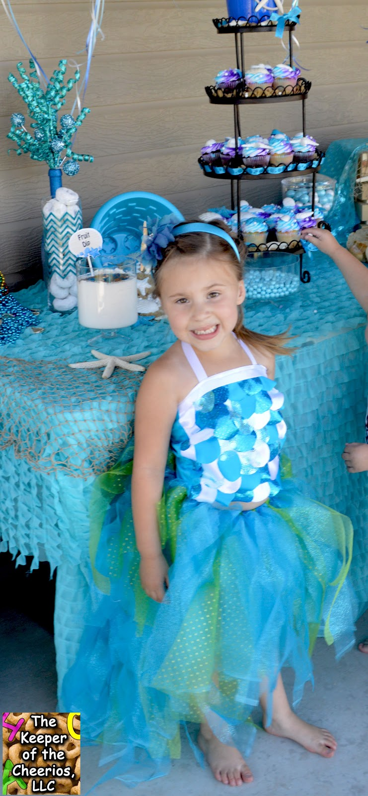 Mermaid Princess Birthday Party The Keeper Of The Cheerios