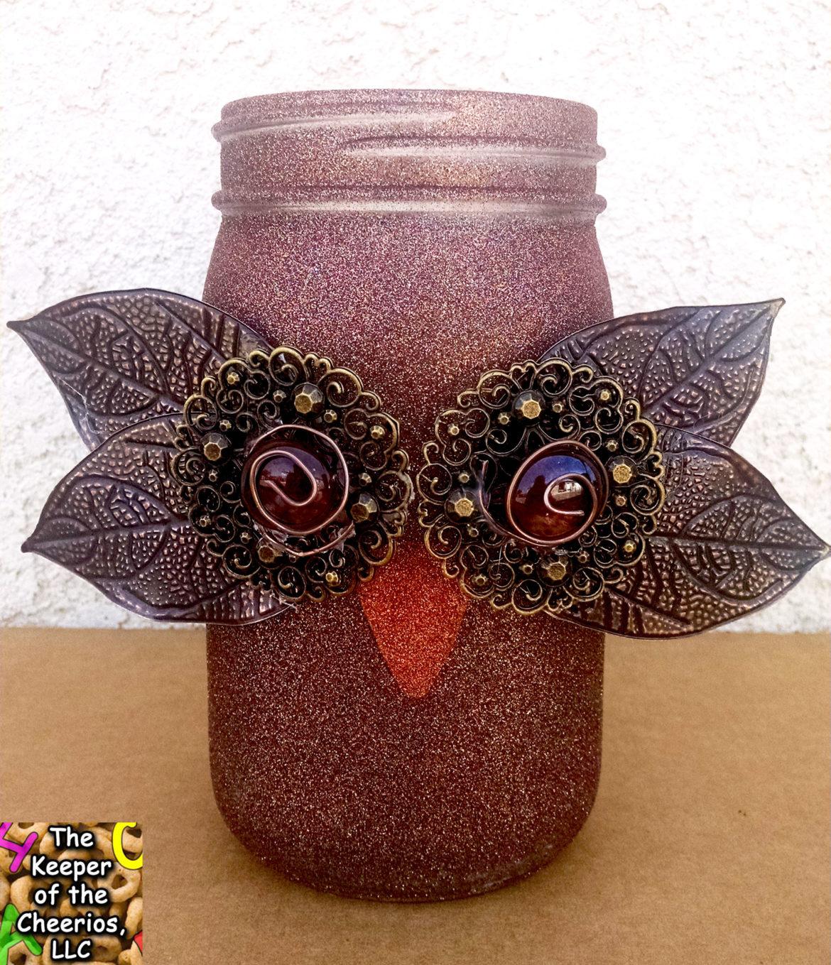 owl mason jar 2