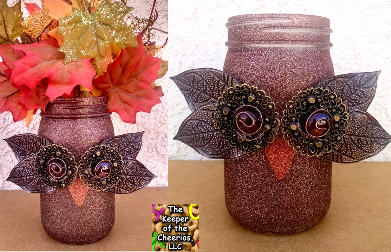 owl mason jars 2