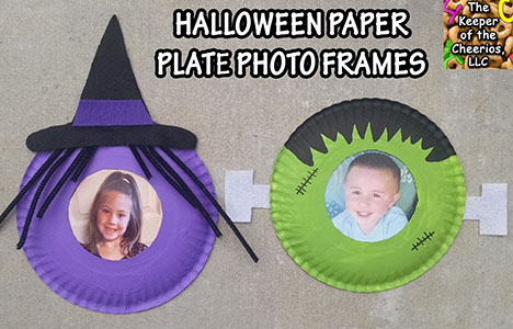 HALLOWEEN PAPER PLATES SM