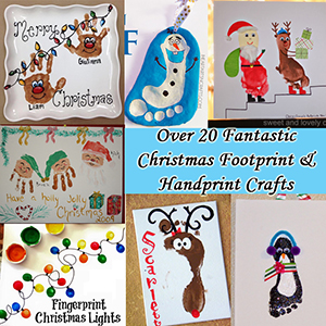 Chrsitmas Hand and footprint ideas sm