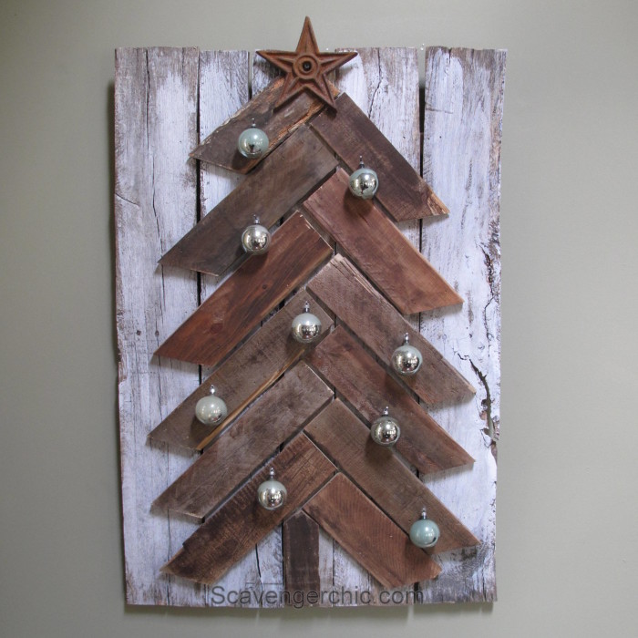 Easy diy Pallet Wood Christmas Tree