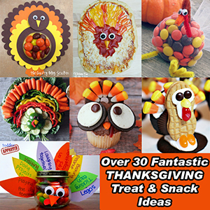 FANTASTIC THANKSGIVING TREAT AND SNACK IDEAS SM