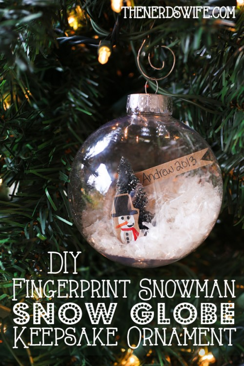 fingerprint snowmen ornaments 35 keepsake ideas the keeper of the cheerios 2019