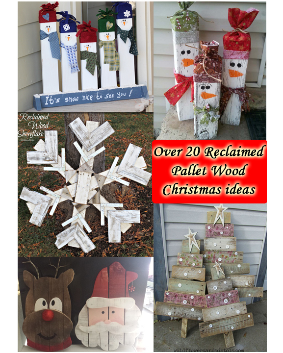 Christmas Reclaimed Pallet Wood Ideas The Keeper Of The