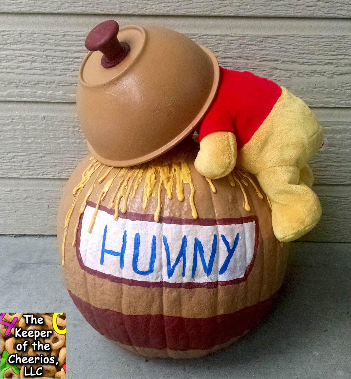 Winnie The Pooh Honey Pot Pumpkin