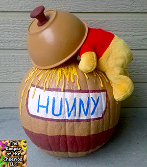 Winnie the Pooh Honey Pot Pumpkin sm