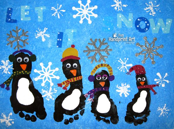 winter-canvas-art-footprint-penguins