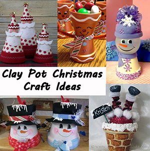 clay pot christmas craft ideas sm