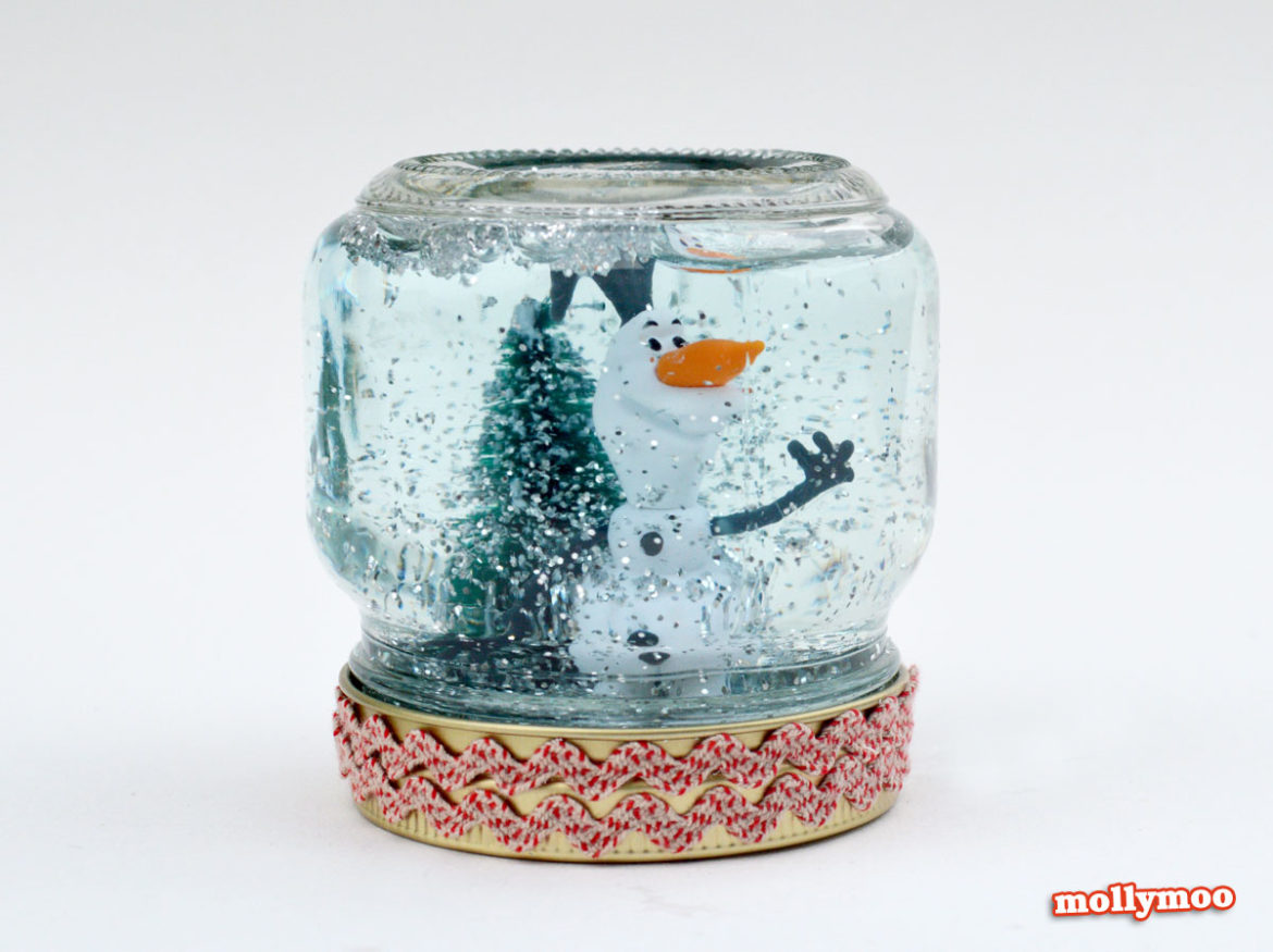 how to make a snow globe