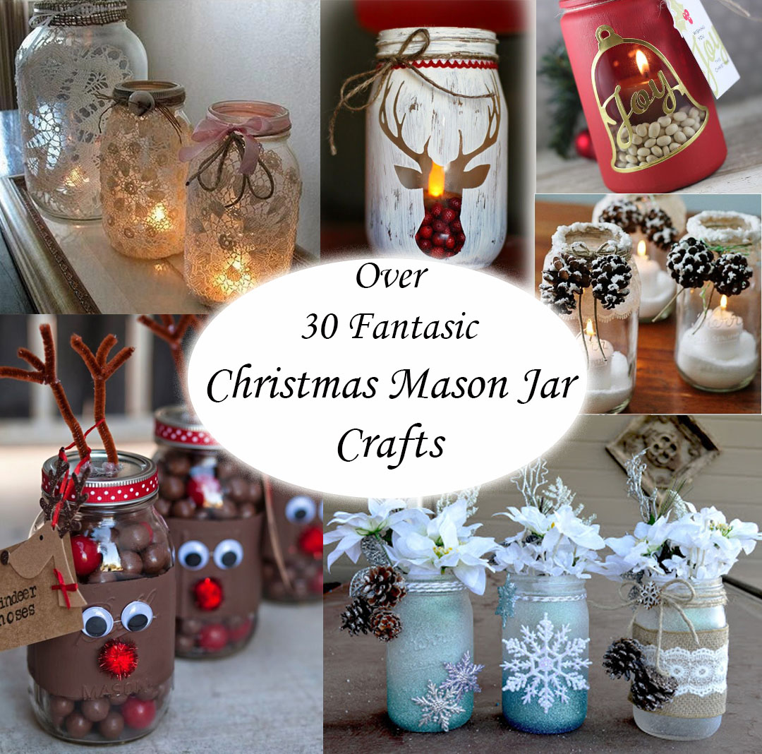 Christmas Mason Jar Ideas The Keeper Of The Cheerios