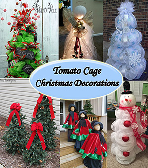 tomato cage christmas decorations sm