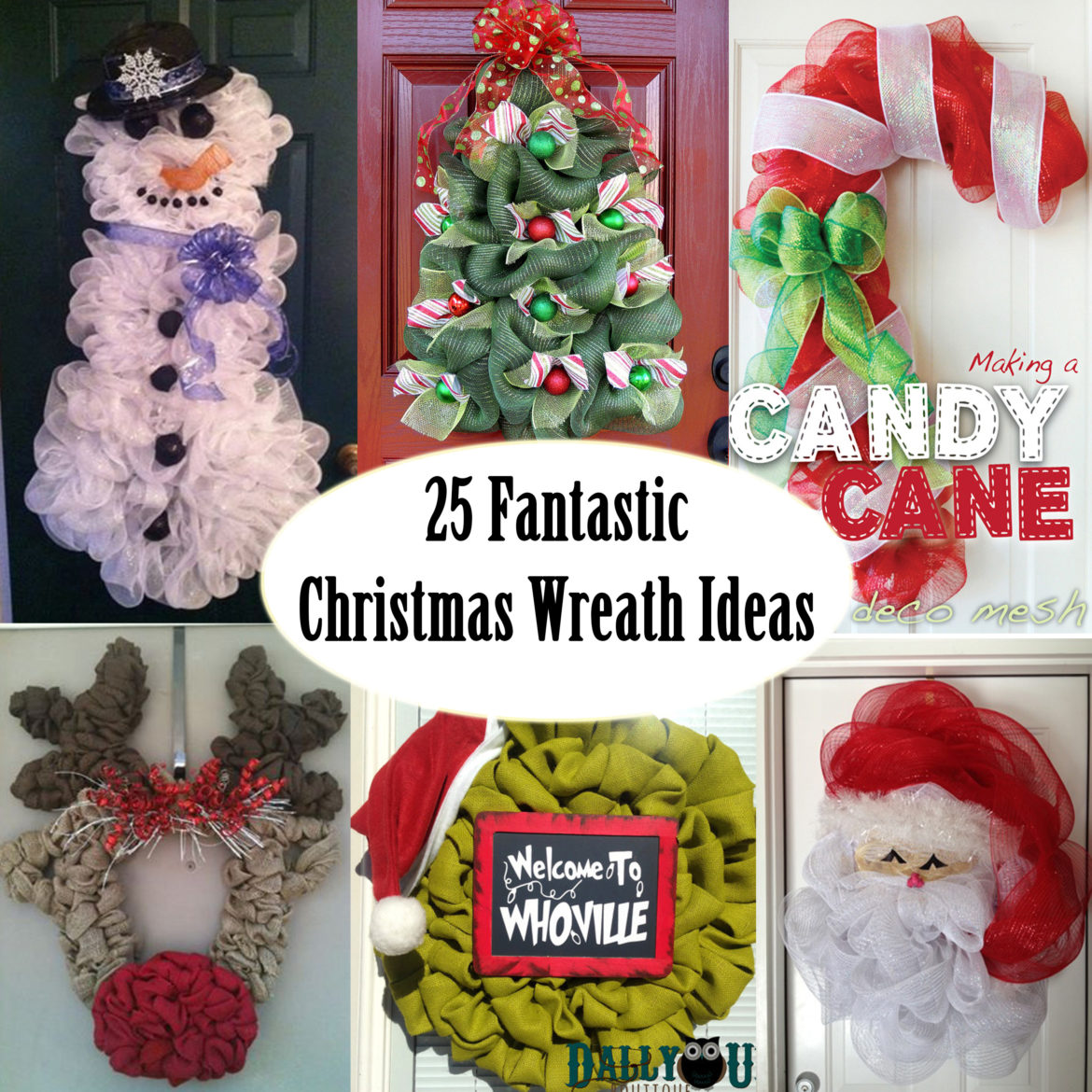 Creative Wreath Ideas: Unique Christmas Wreath Ideas
