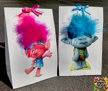 TROLL PARTY FAVOR BAGS SM