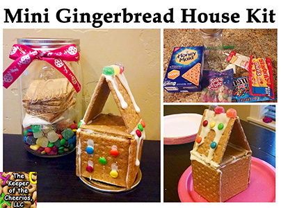 mini gingerbread house kit sm