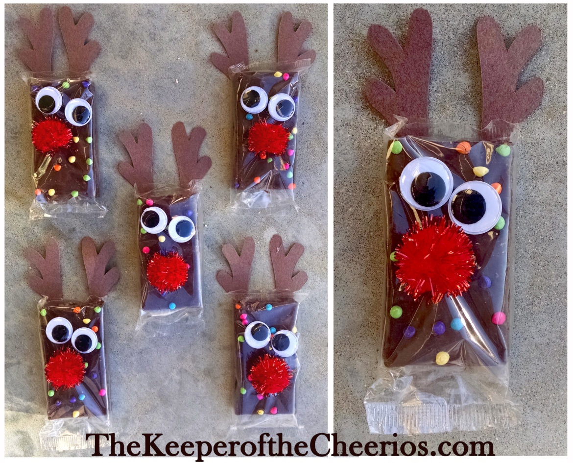 reindeer-brownies