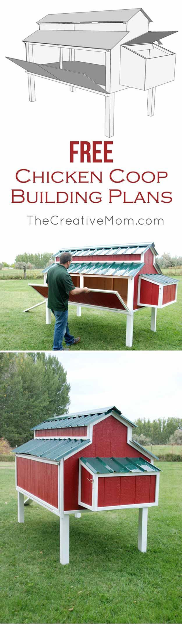15-more-awesome-chicken-coop-ideas-and-designs-red-chicken-coop