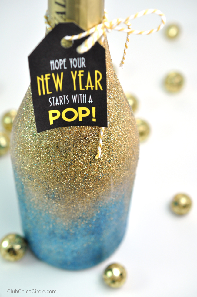 gold-glittered-champagne-bottle-for-new-years-gift-idea