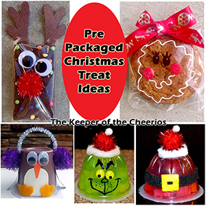 Pre Packaged Christmas Treat Ideas sm