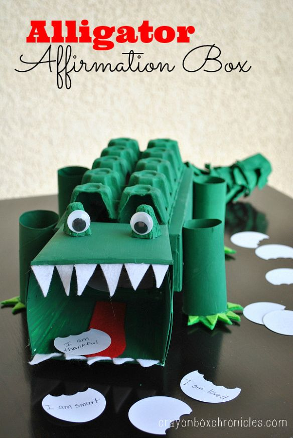 alligator-affirmation-box