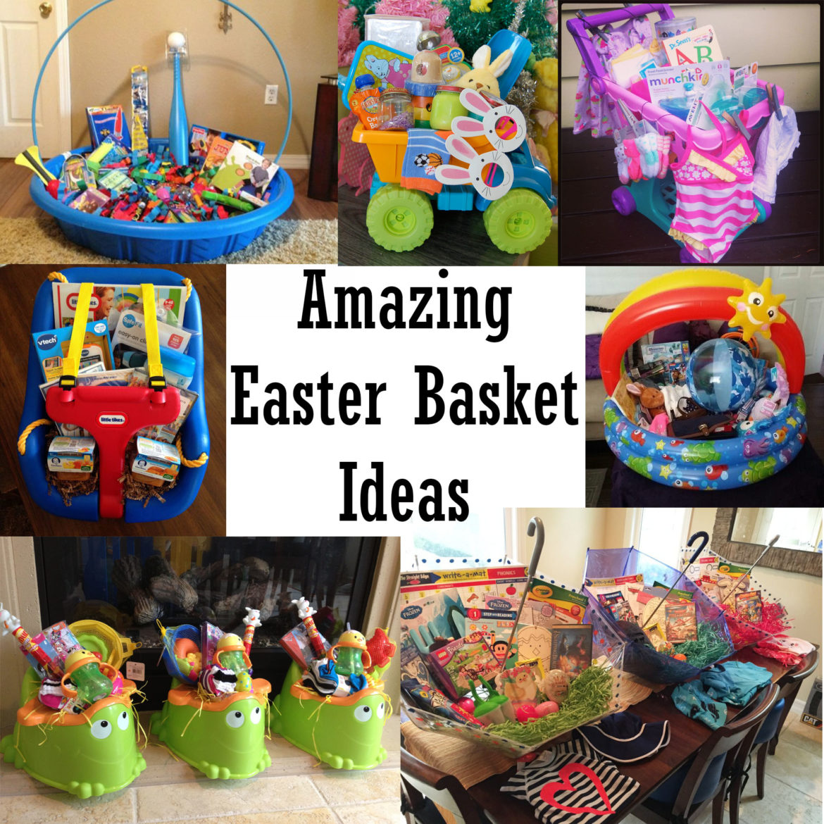 Amazing Easter Basket Ideas - The Keeper of the Cheerios