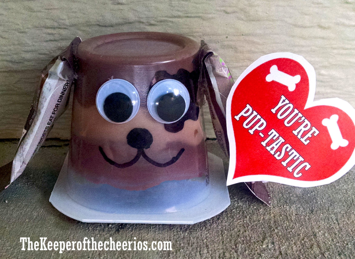 Pup Tastic Pudding Cup