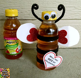 bee my valentine juice sm