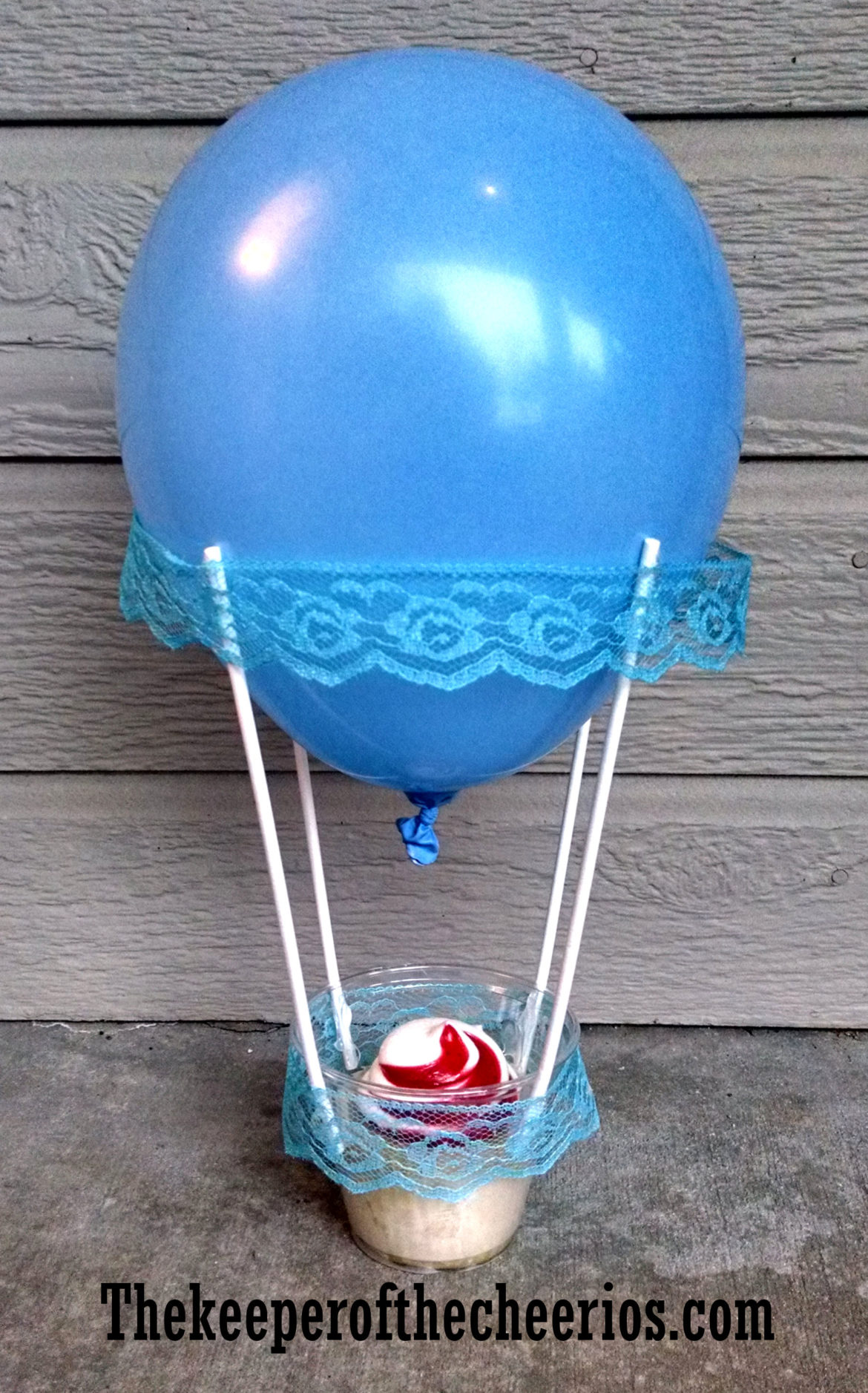 Hot Air Balloon Cupcake Favor Cups The Keeper Of The