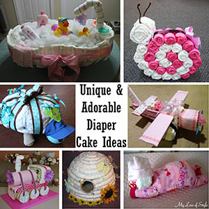 unique and adorable diaper cake ideas sm