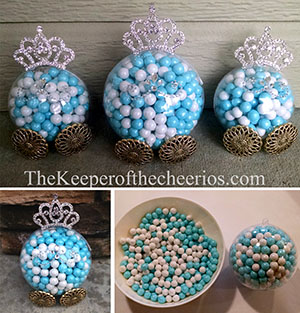 Cinderella Carriage Party favor sm