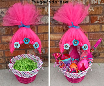 Trolls movie easter basket idea negle Images