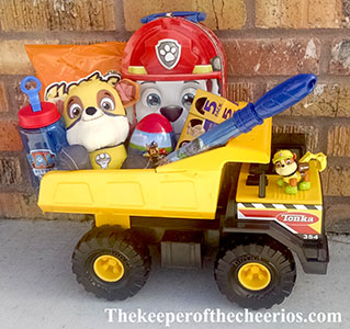 Paw Patrol Easter Basket idea sn'
