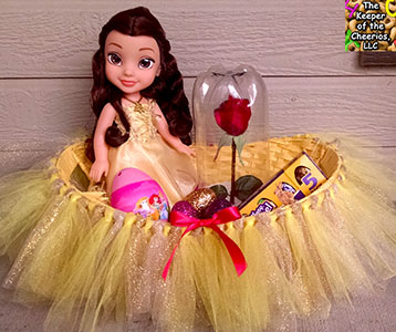 beauty and the beast Easter basket sm