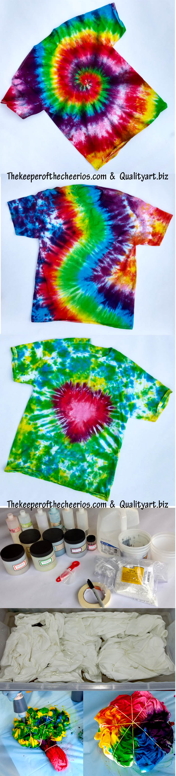 jacquard tie dye instructions