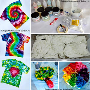 HOW TO TYE DYE AM
