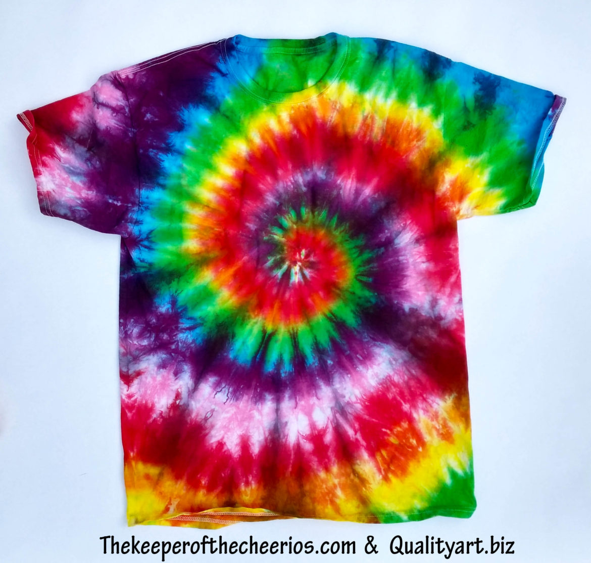 How To Tie Dye The Keeper Of The Cheerios
