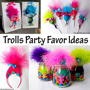 Trolls Party favor ideas sm