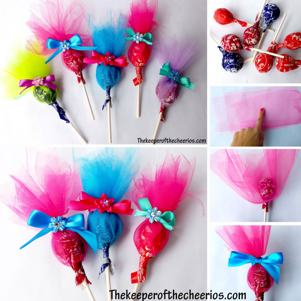 Cute halloween decorations for kids - Trolls Party Favor Suckers