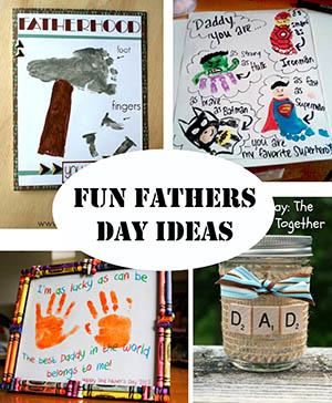 FUN FATHERS DAY IDEAS SM