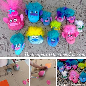 TROLL PAINTED ROCKS sm