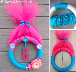 Trolls Party Wreath The Keeper Of The Cheerios