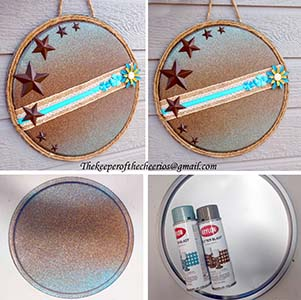 rustic dreaming pizza pan door hang sm